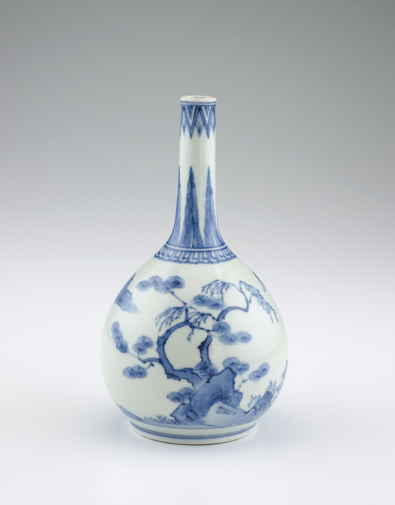 Arita ware bottle
