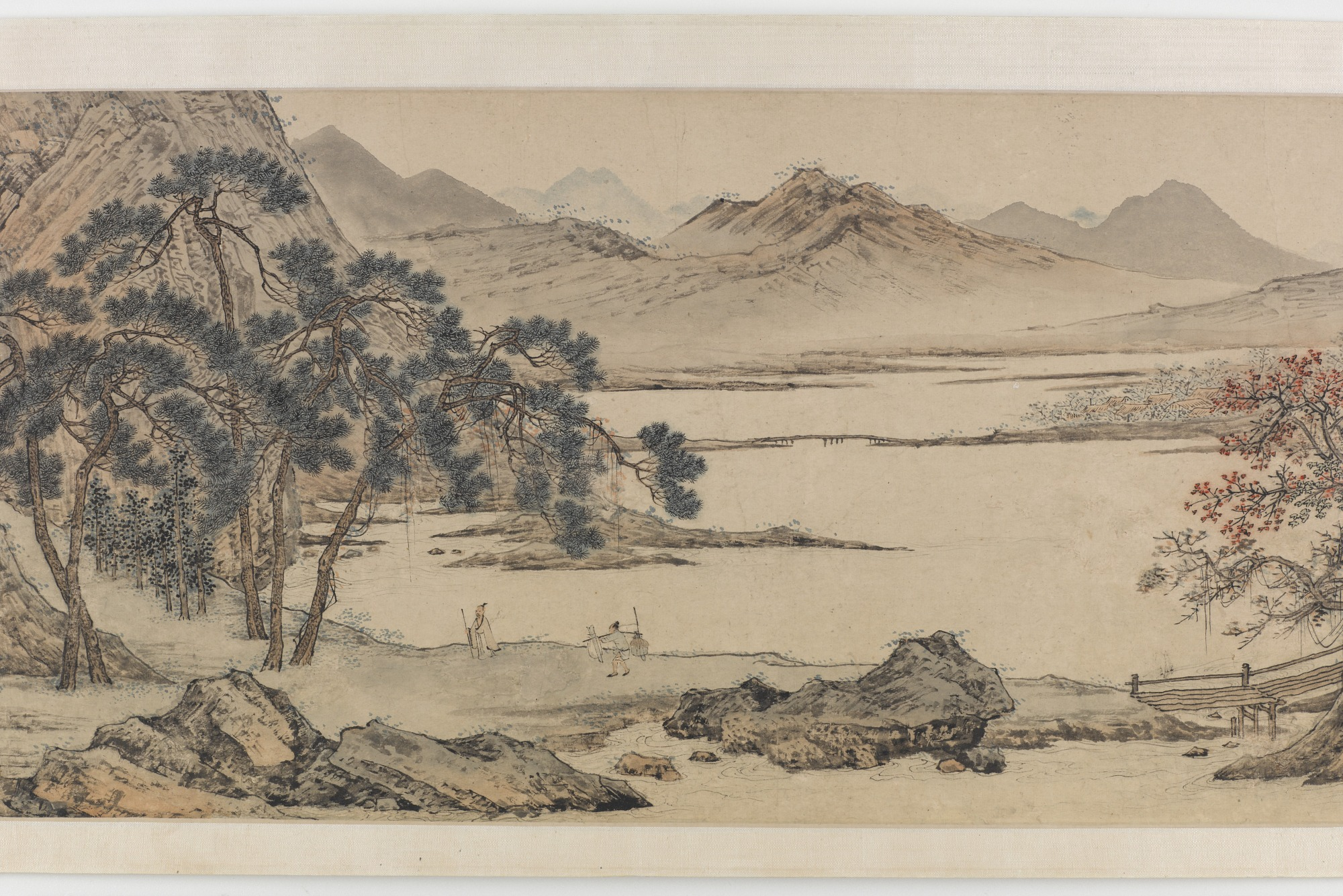 Landscape in the Style of Li Tang