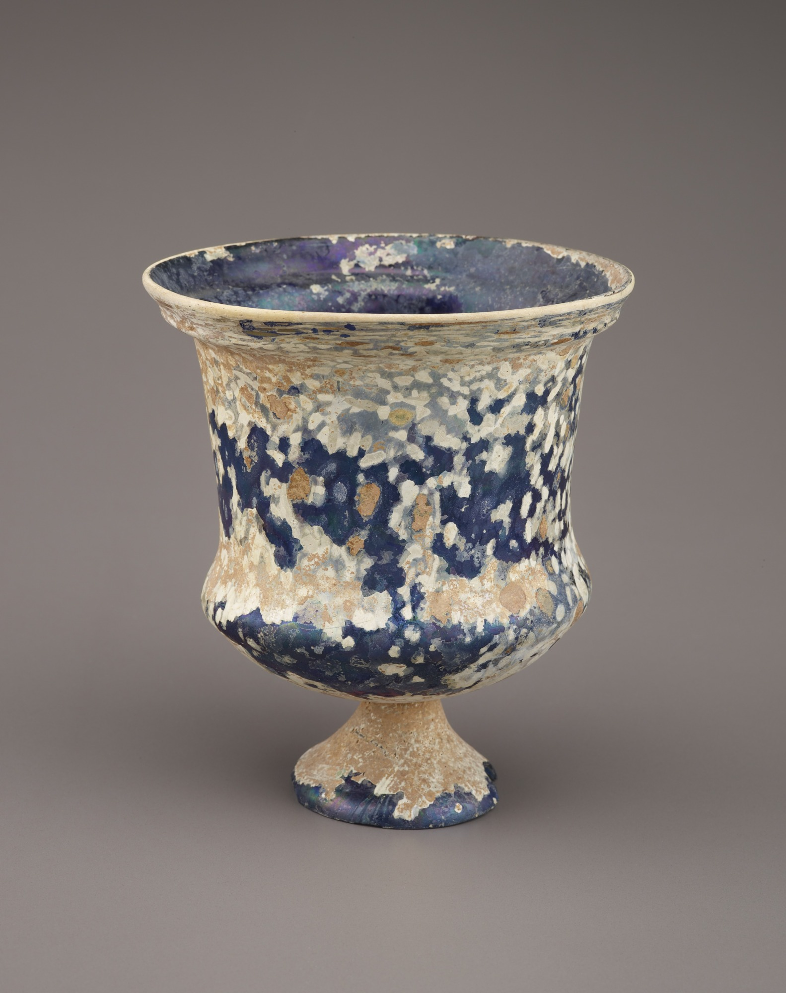 Footed drinking vessel