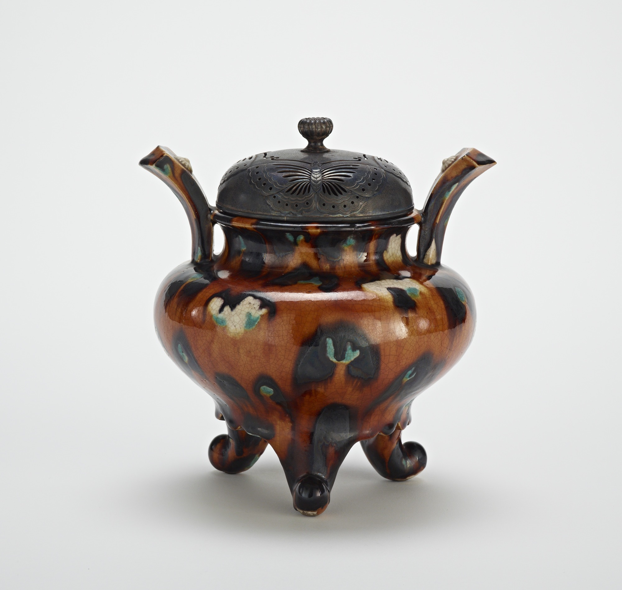 Hirasa ware incense burner
