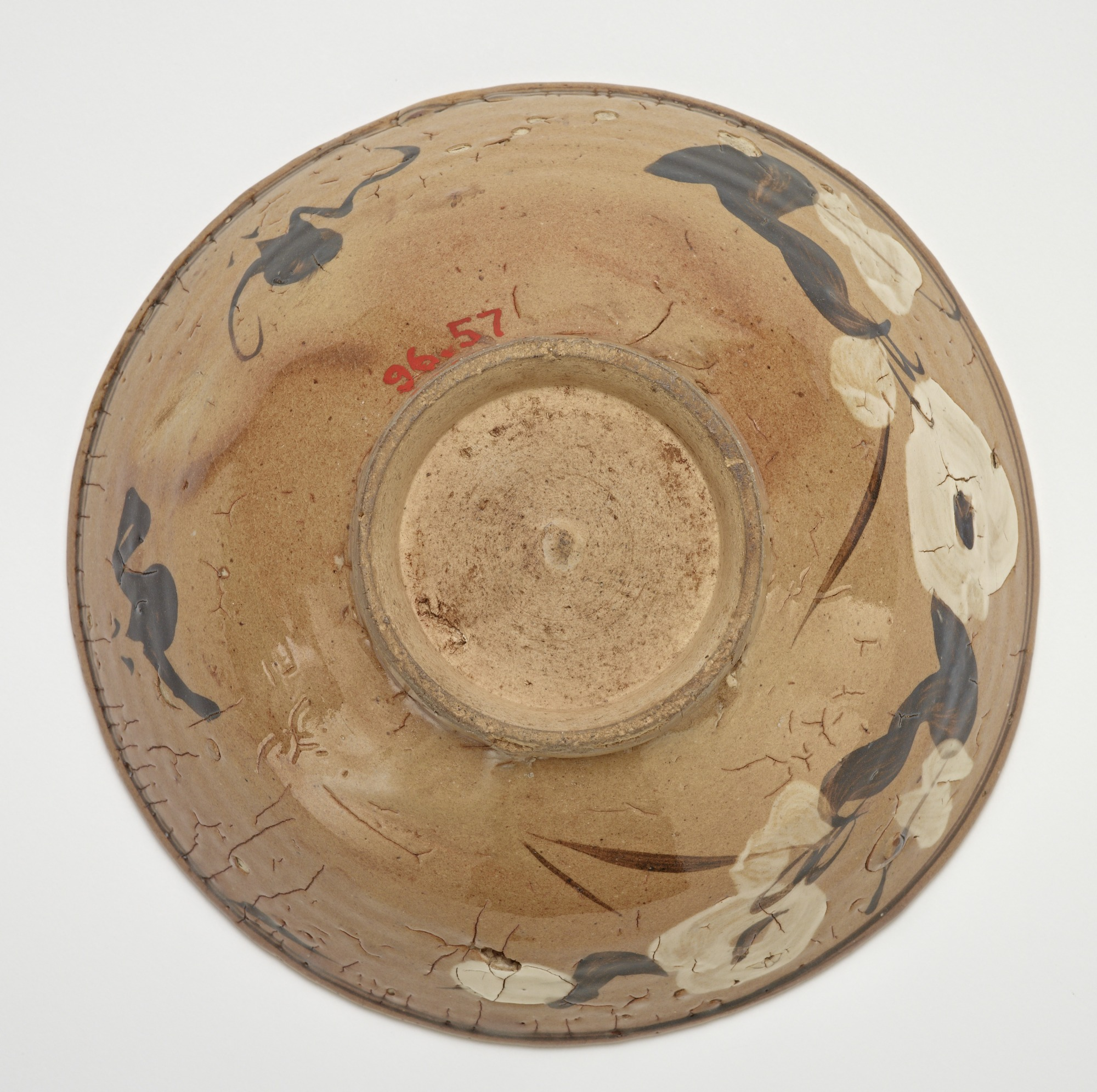 base: Bowl, Cizhou-type ware