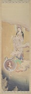 : Copy after the hanging scroll Hibo Kannon, 1888, by Kano Hogai (1828-1888)