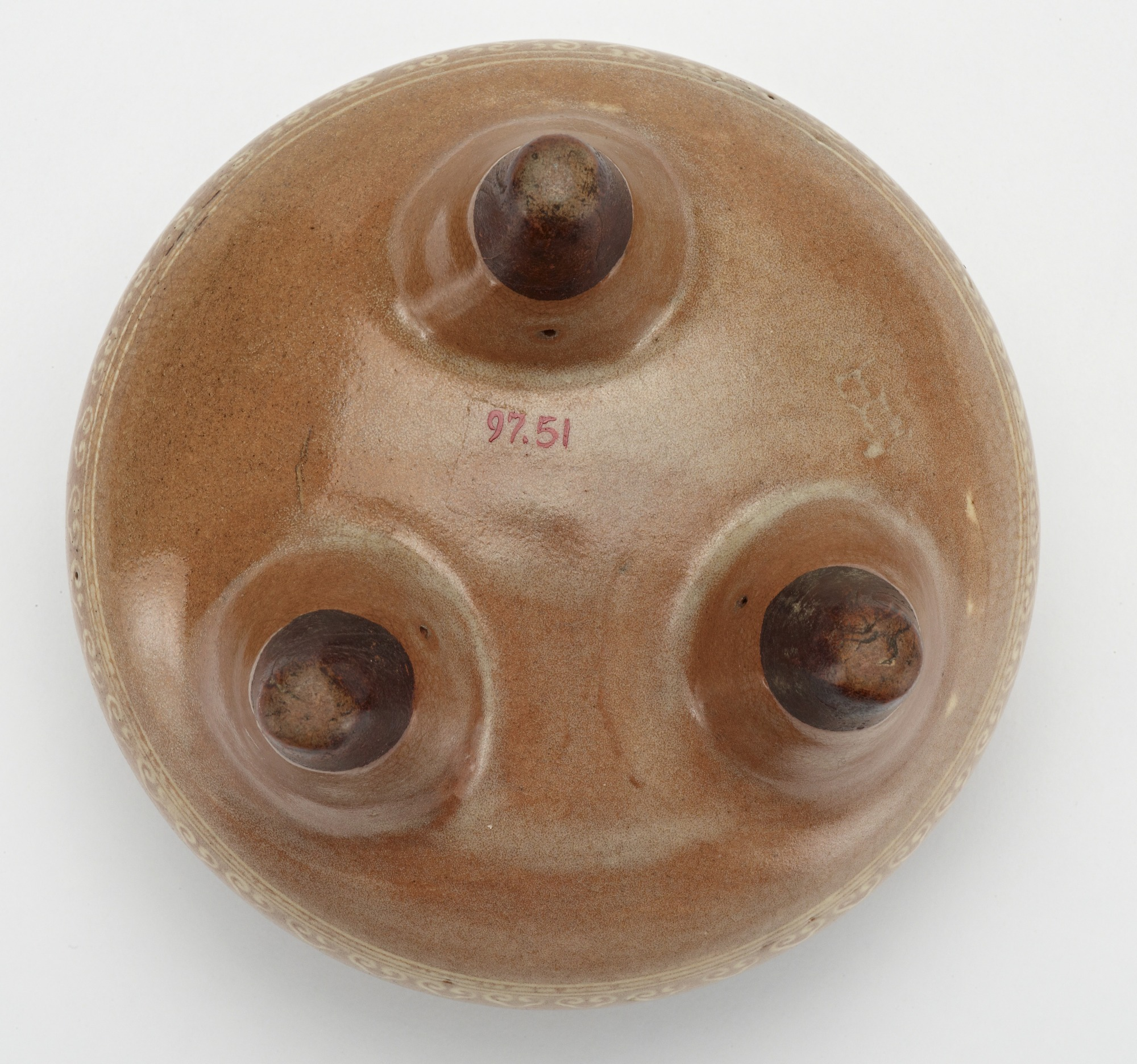 base: Hozan ware incense burner