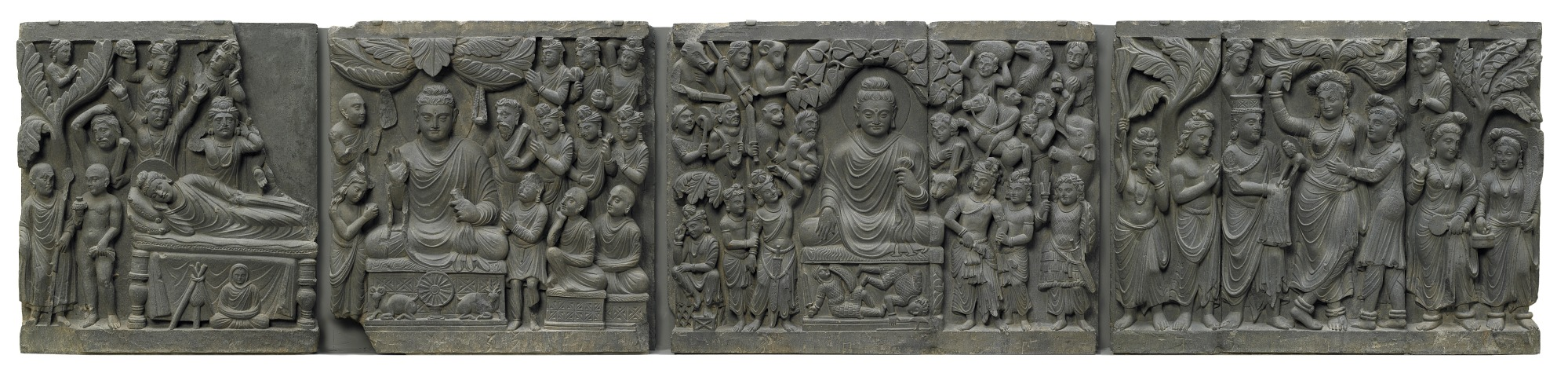 : Scenes from the life of the Buddha