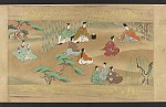 Story of the Tamura Family (with calligraphy), one of series with F1975.21 and F1975.23