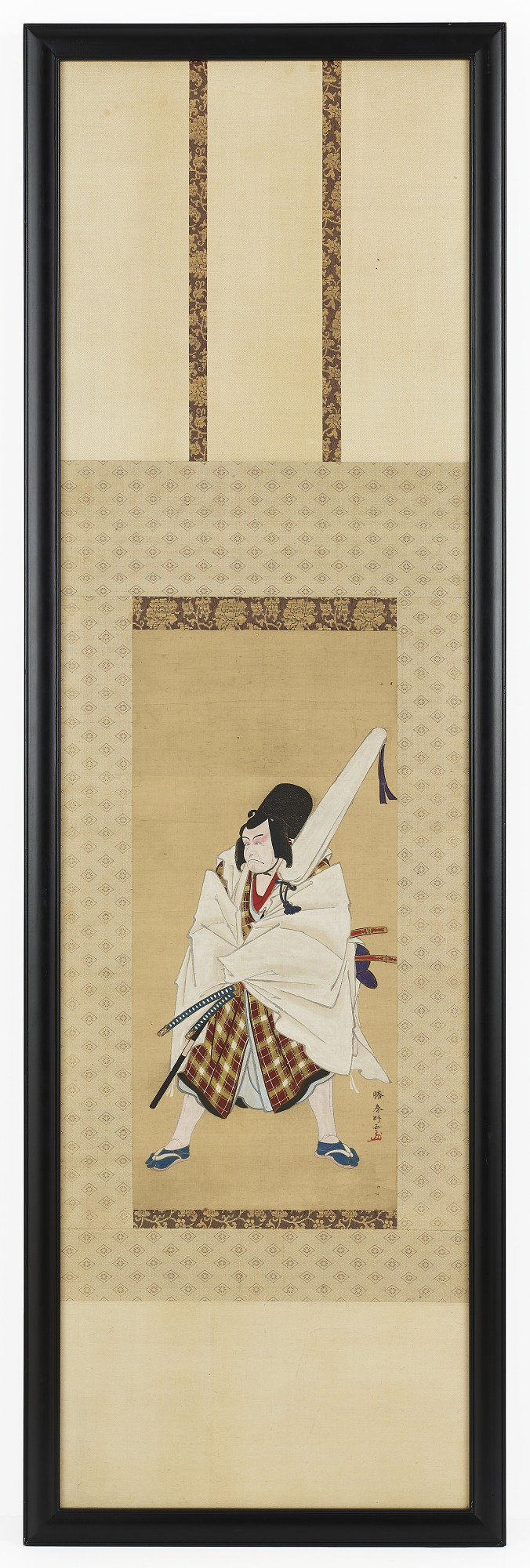 The Actor Ichikawa Ebizo III as Matsuomaru in the play Sugawara and the Secrets of Calligraphy