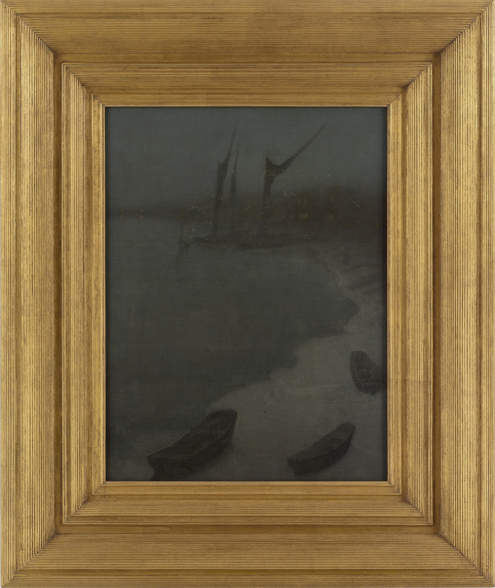 : Nocturne: Grey and Silver--Chelsea Embankment, Winter