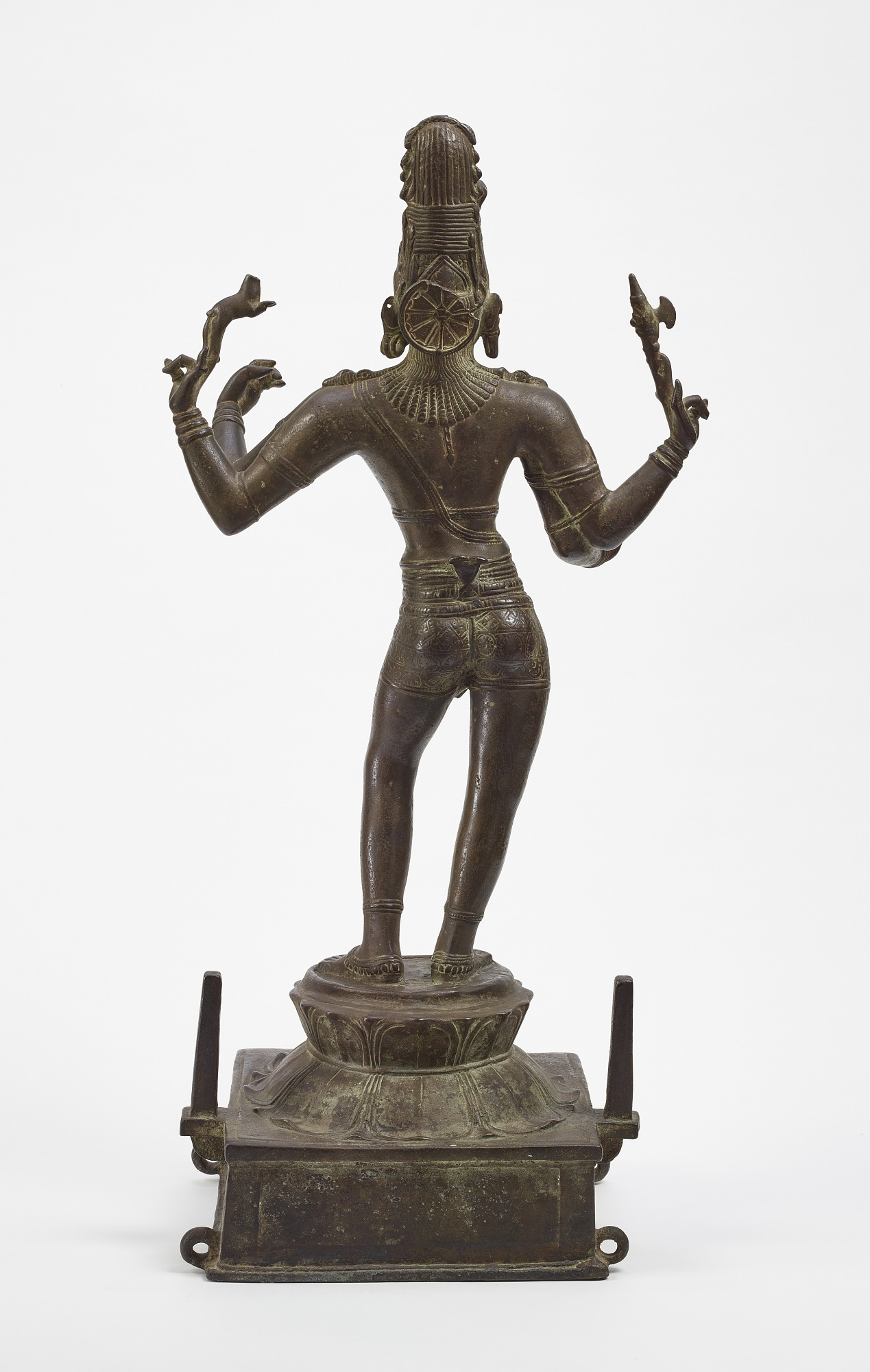 back: Shiva Vinadhara (Holder of the Lute)