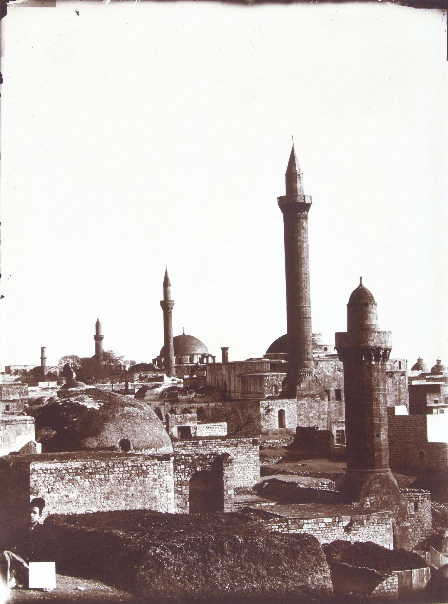 Sepia photograph of Aleppo.