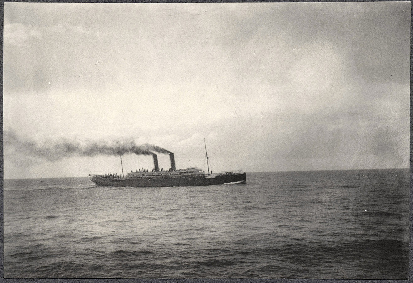 S.S Siberia photographed from the S.S. Manchuria.