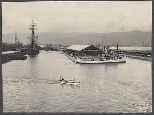 Honolulu docks.