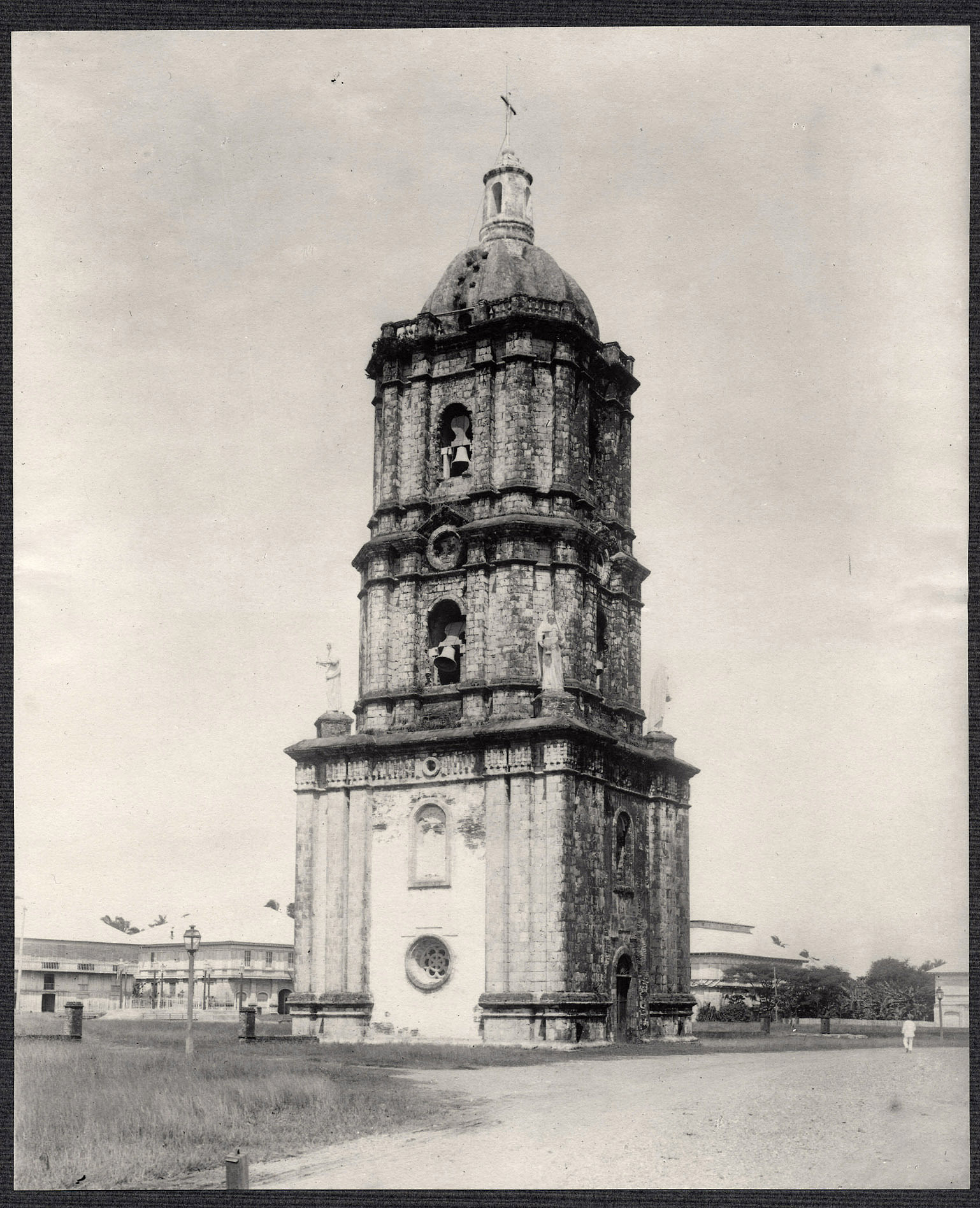 Iloilo City: Jaro Cathedral bell tower