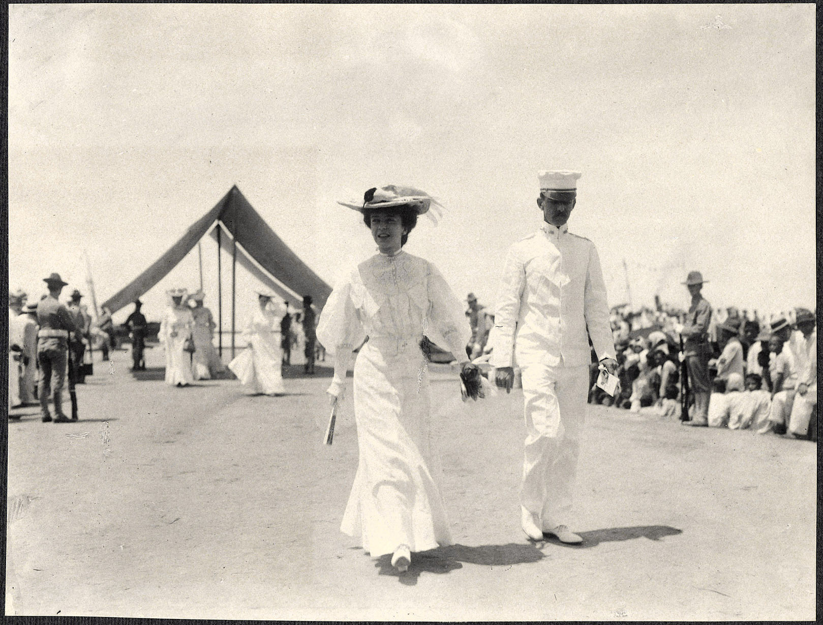 Cebu: Alice Roosevelt arrives