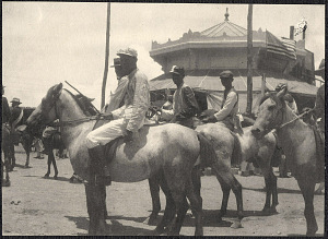 Cebu: Jockeys on horseback
