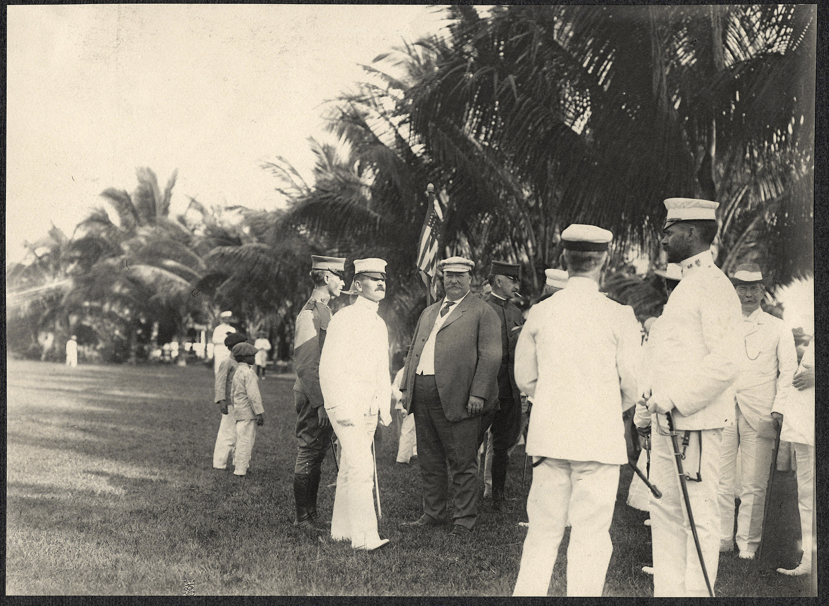 Zamboanga: William H. Taft at Zamboanga parade grounds