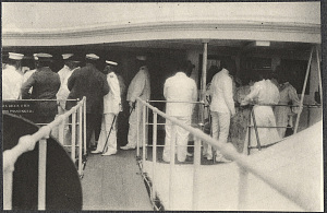 Americans aboard the USS Logan