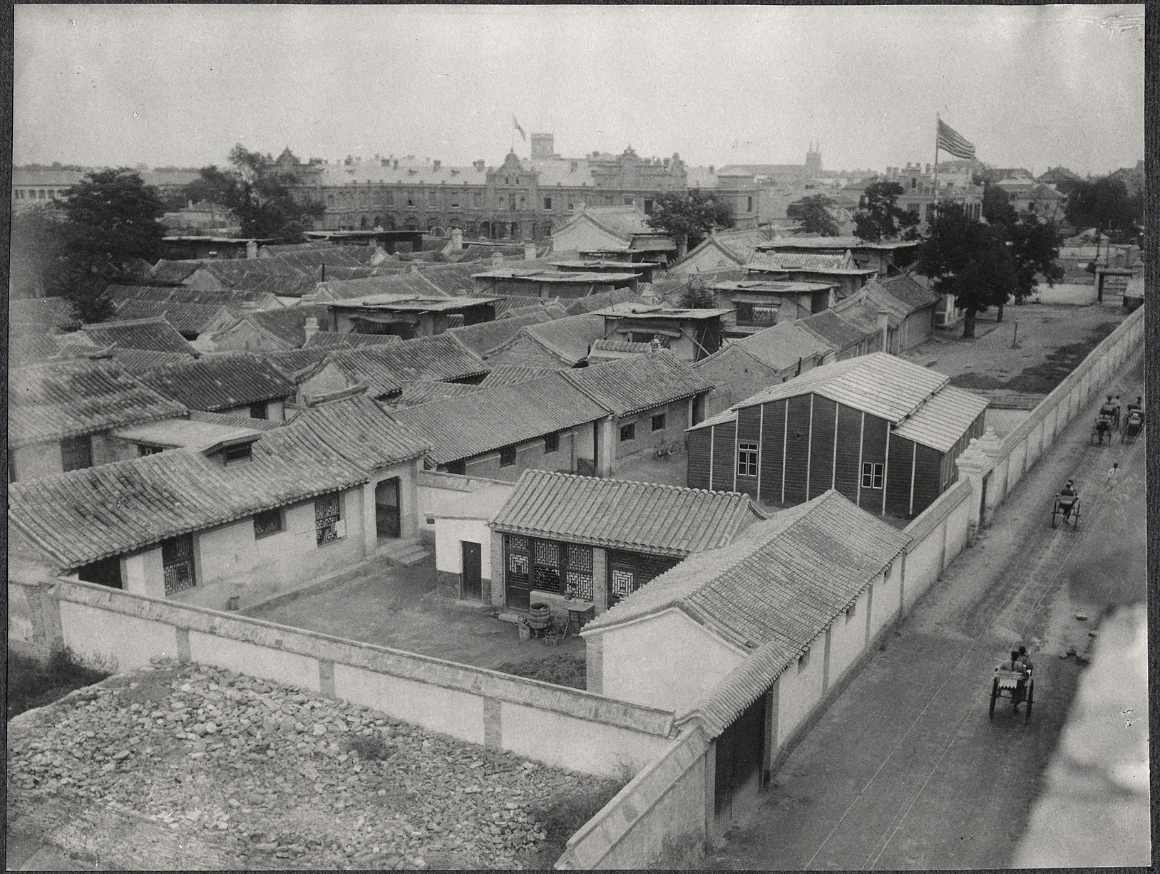 Beijing: A view of the American Legation Compound