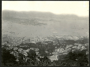 Hong Kong: View of Causway Bay from Victoria Peak