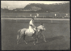 Hong Kong: A jockey at the racetrack