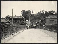 okohama: View across Maeda Bridge toward the 100 Steps at Motomachi