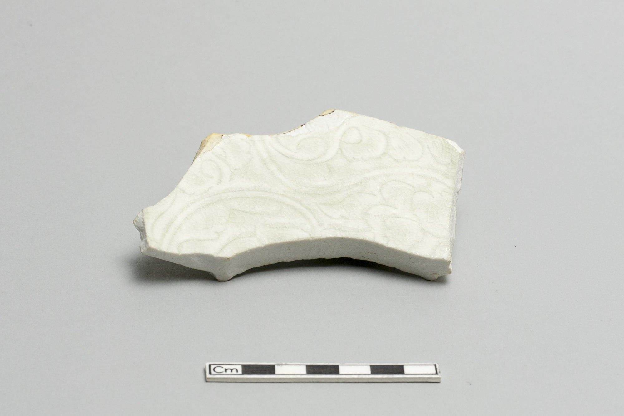 Base of a dish or bowl