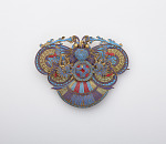 Headdress ornament in the form of a moth