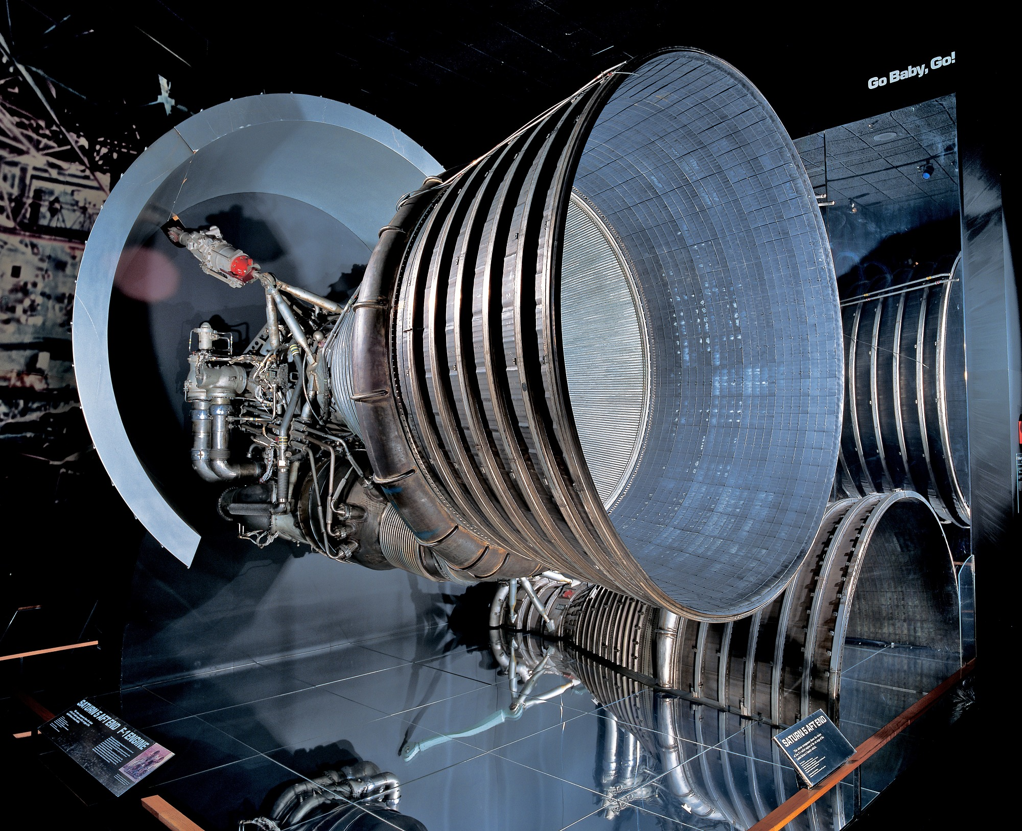 Image of : Rocket Engine, Liquid Fuel, F-1