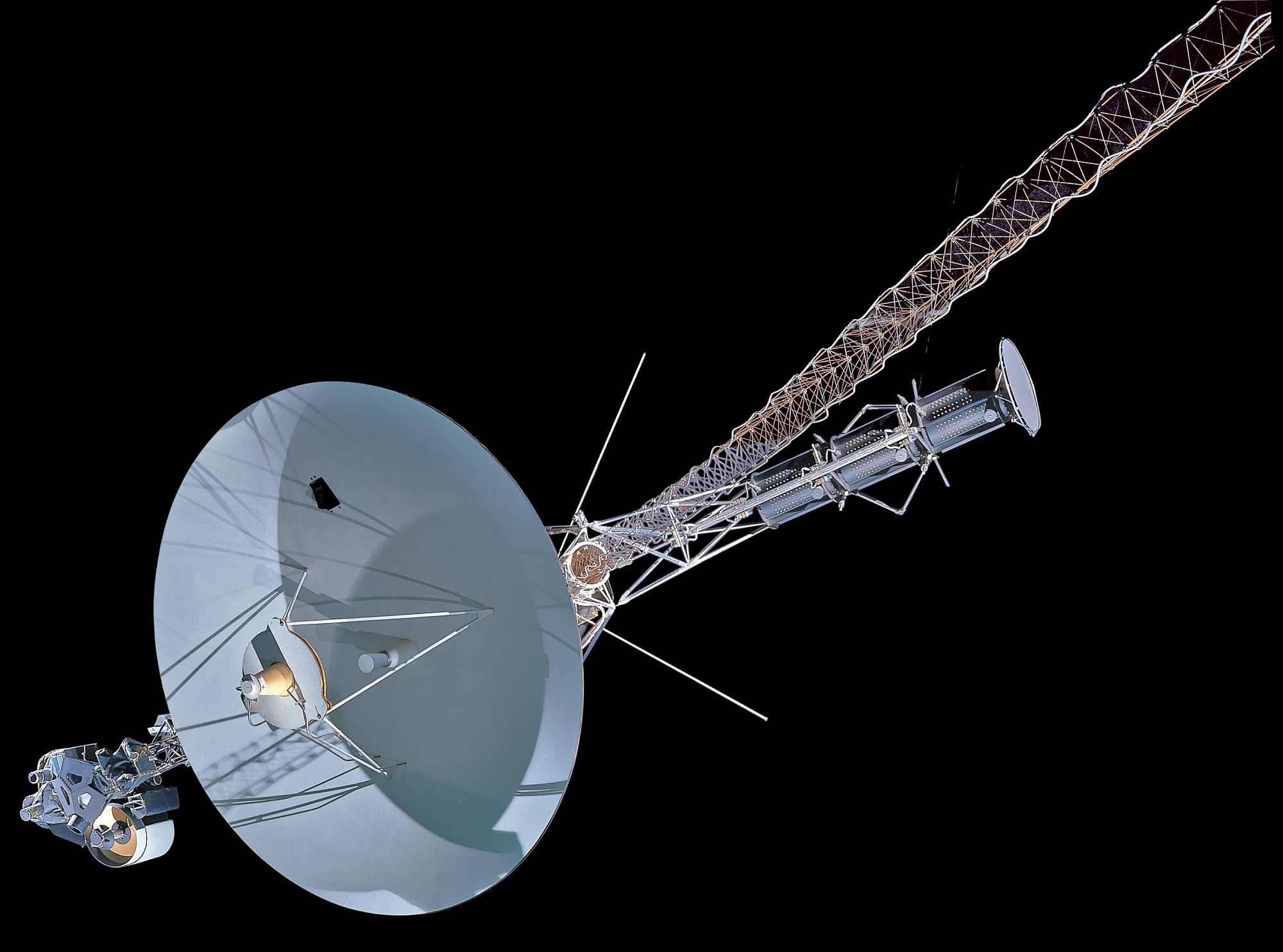 Image of : Voyager Spacecraft Mock-up, Full Scale