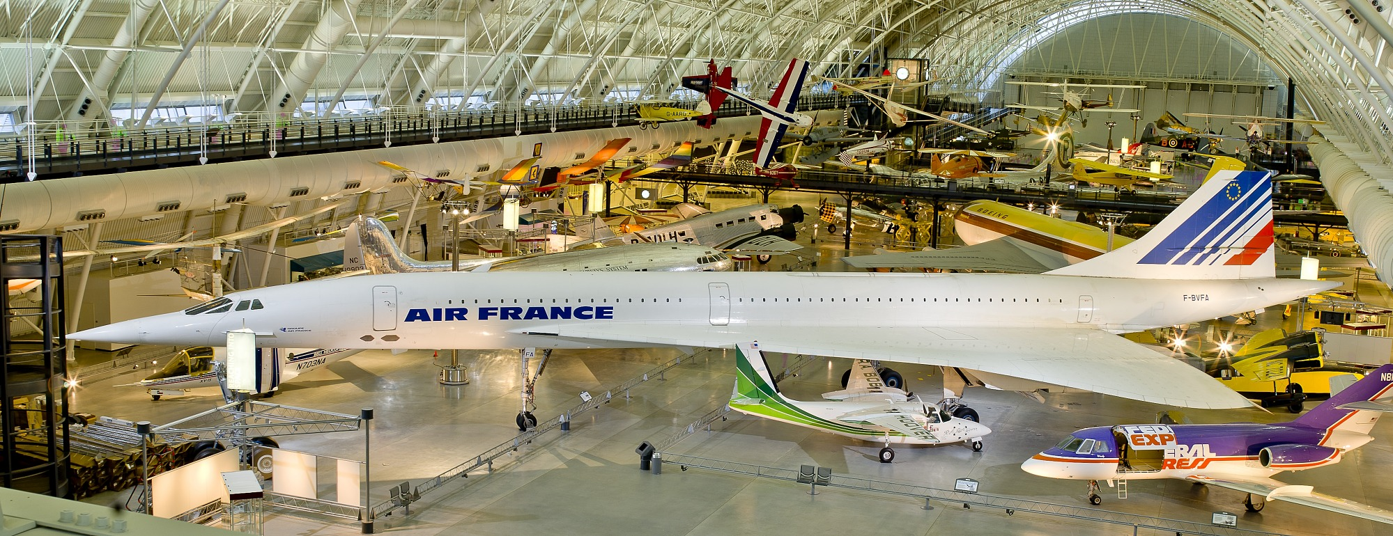 Image of : Concorde, Fox Alpha, Air France