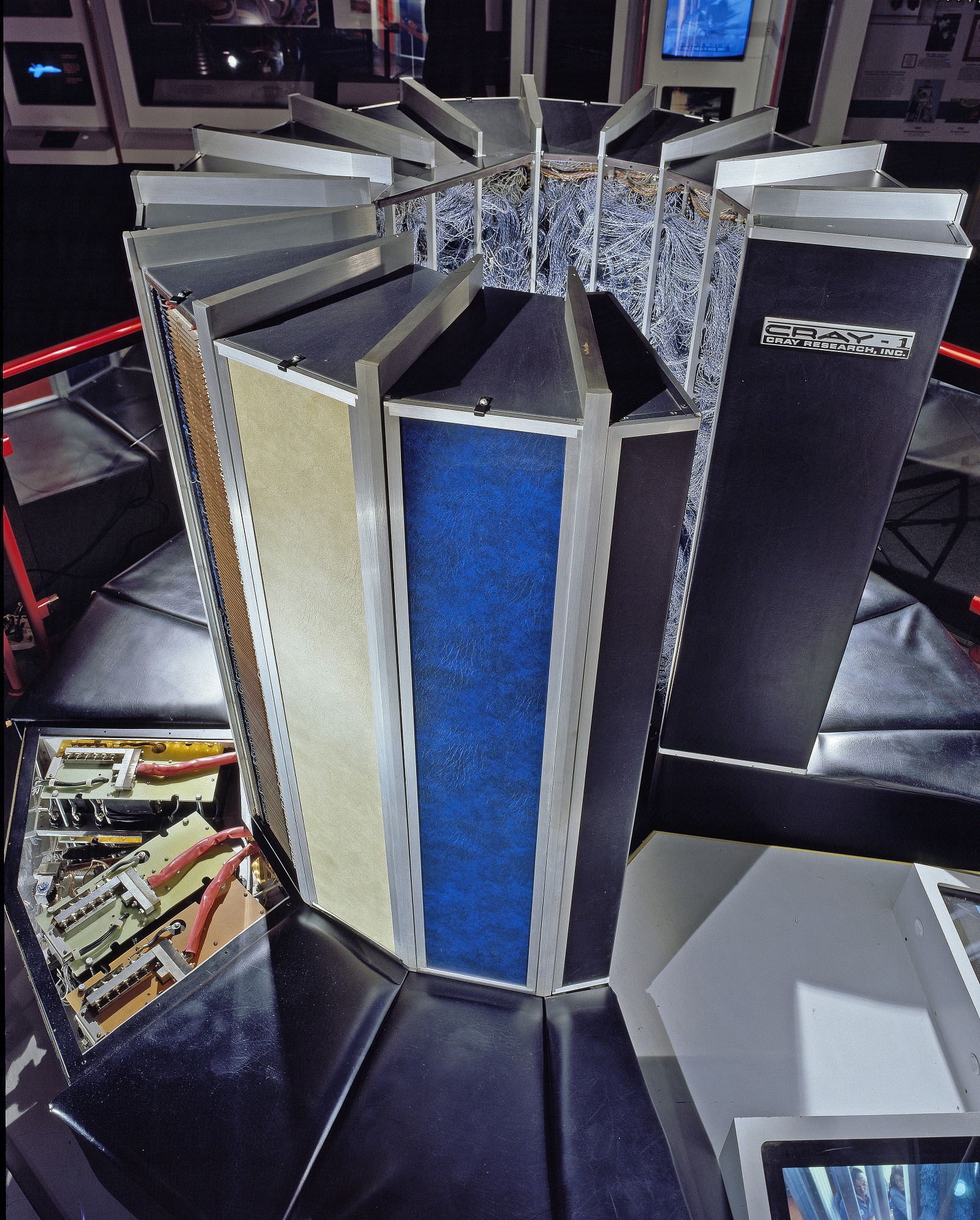 Image of : Computer, Super, Cray-1, CPU