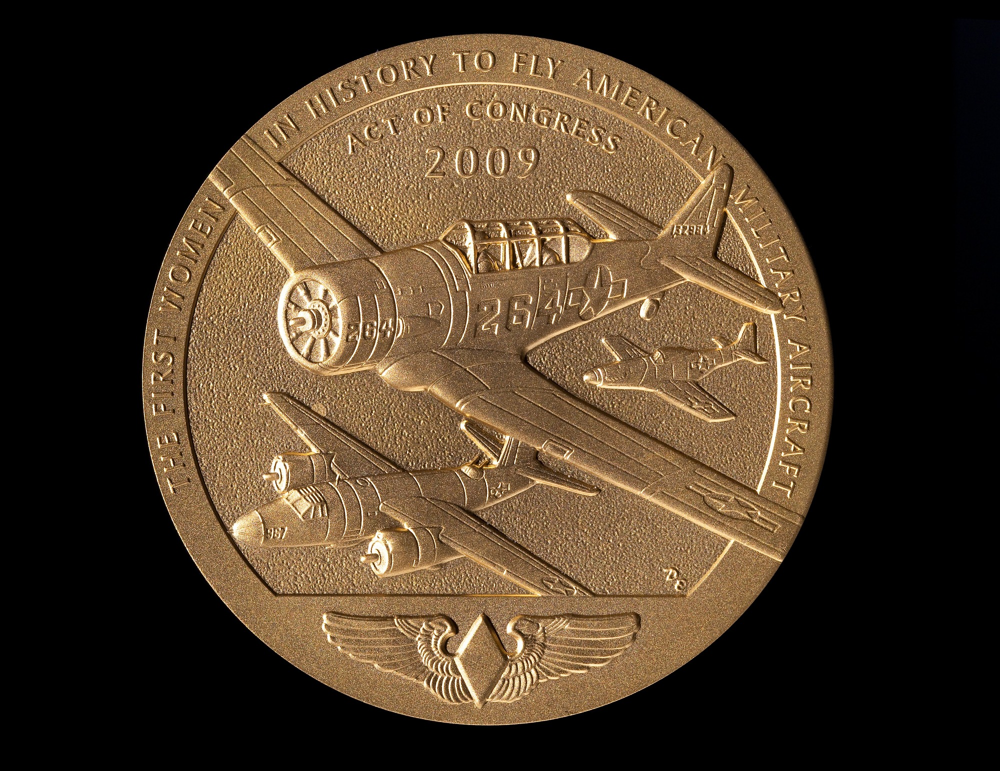Image of : Congressional Gold Medal, Women Airforce Service Pilots