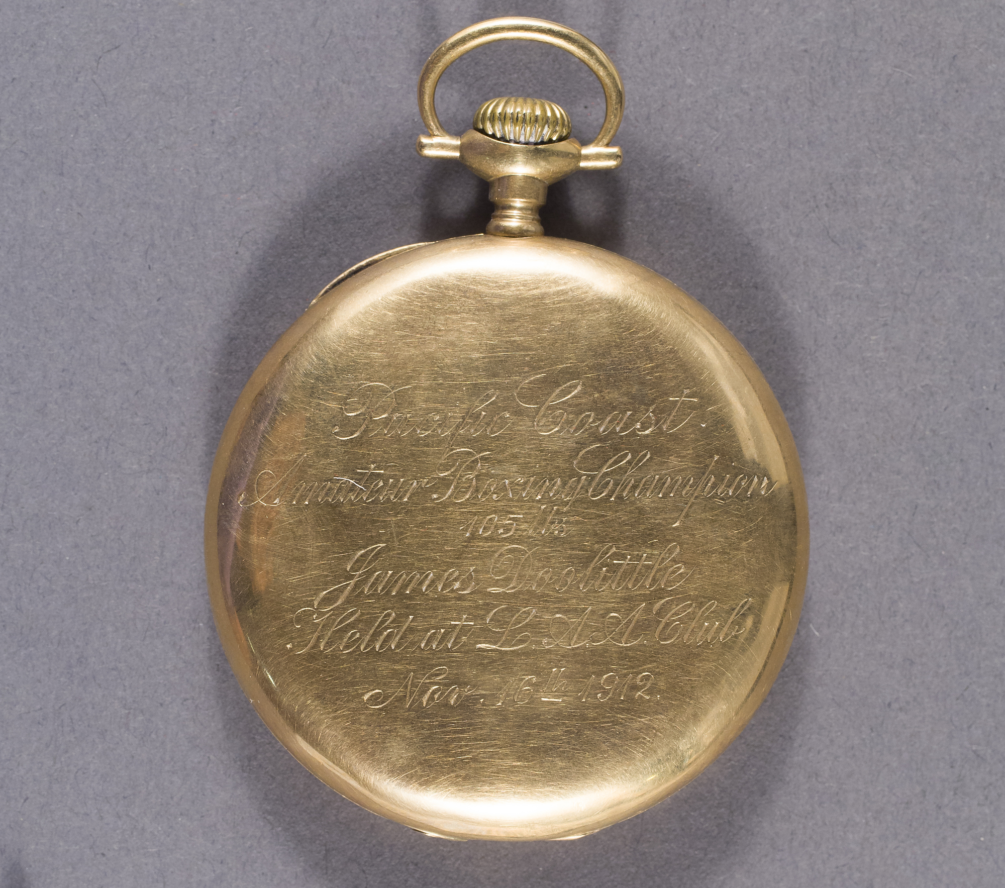 Image of : Pocket Watch, James H. Doolittle