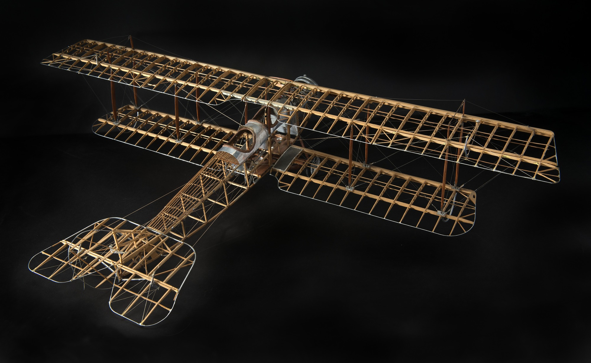 Image of : Model, Static, Curtiss JN4-D2