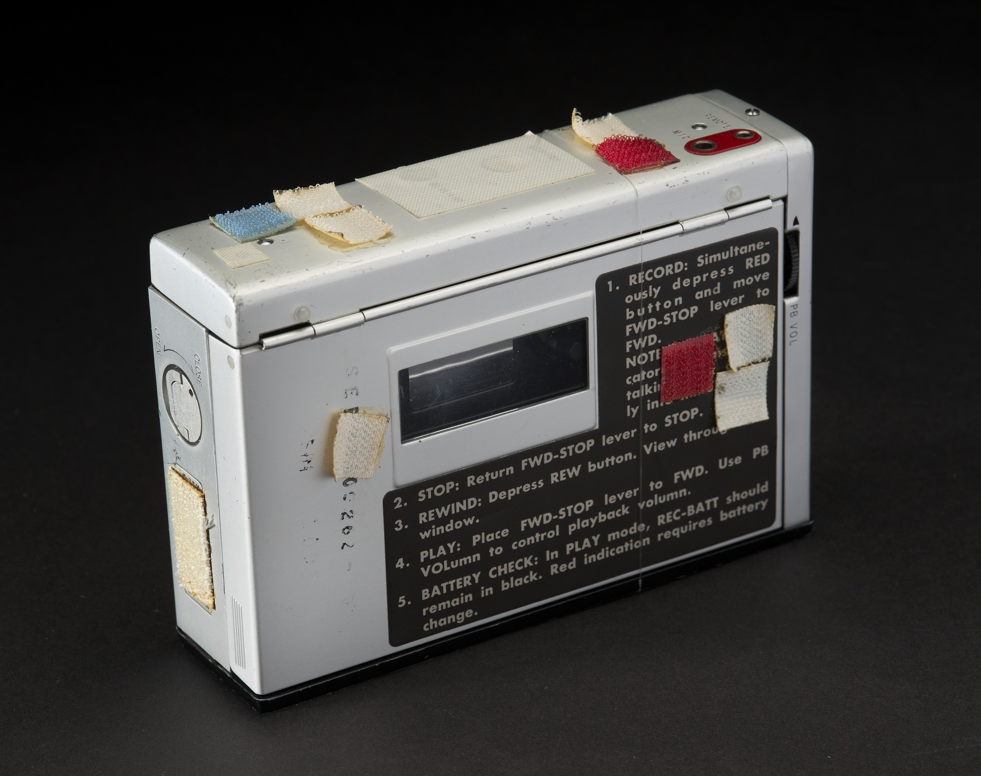 Image of : Recorder, Audio Cassette, Apollo 12