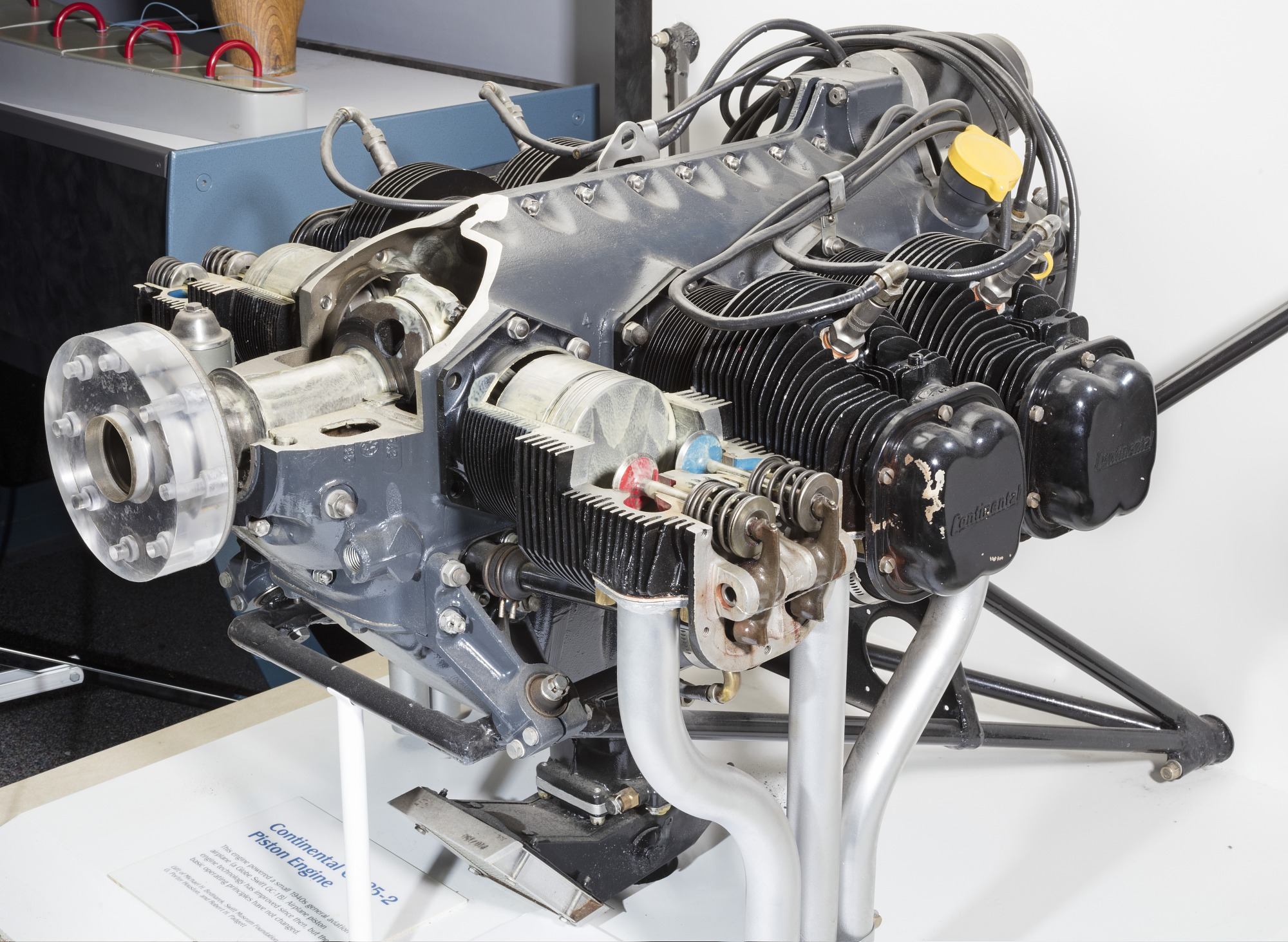 Image of : Continental C-125-2 Horizontally-opposed Engine