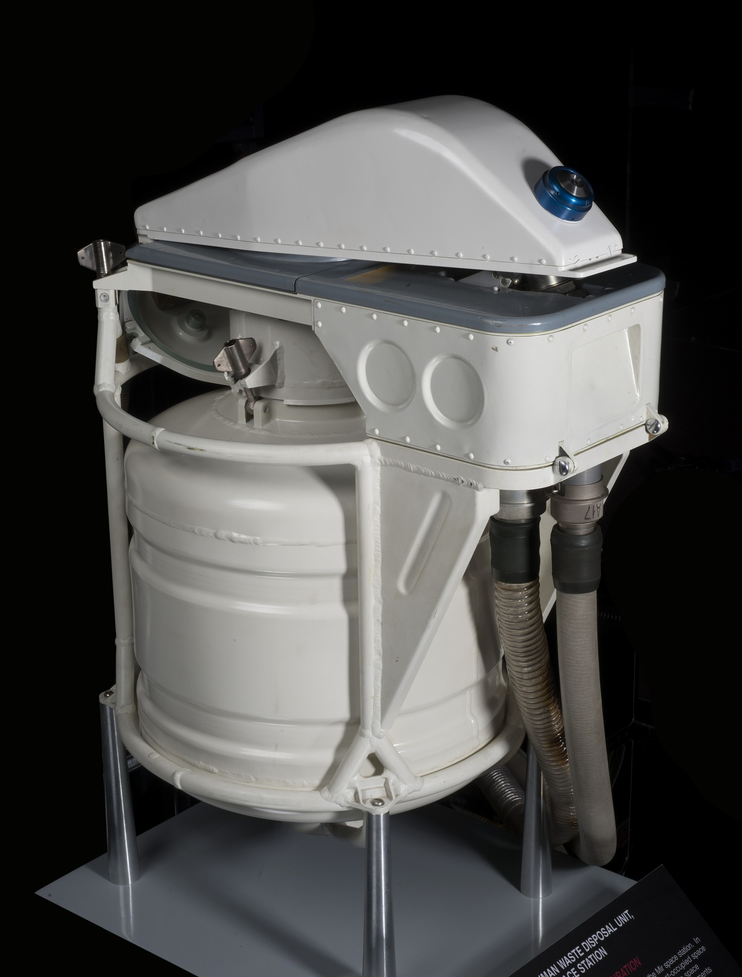 Image of : Human Waste Disposal Unit, Mir Space Station, Female Configuration