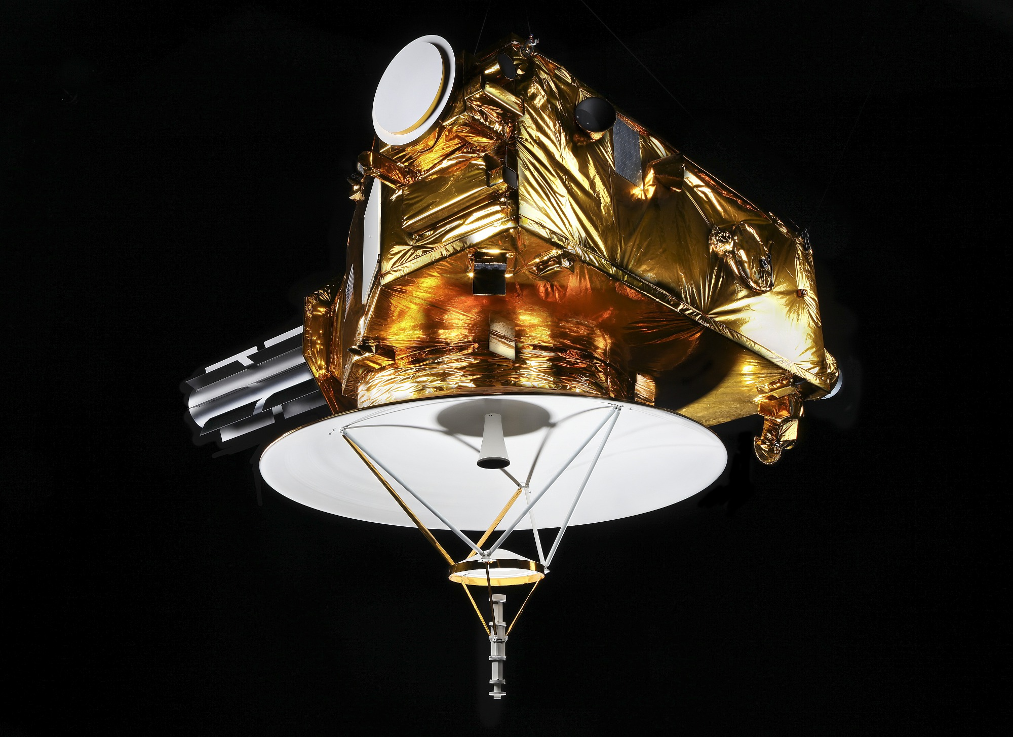 Image of : Spacecraft, New Horizons, Mock-up, model