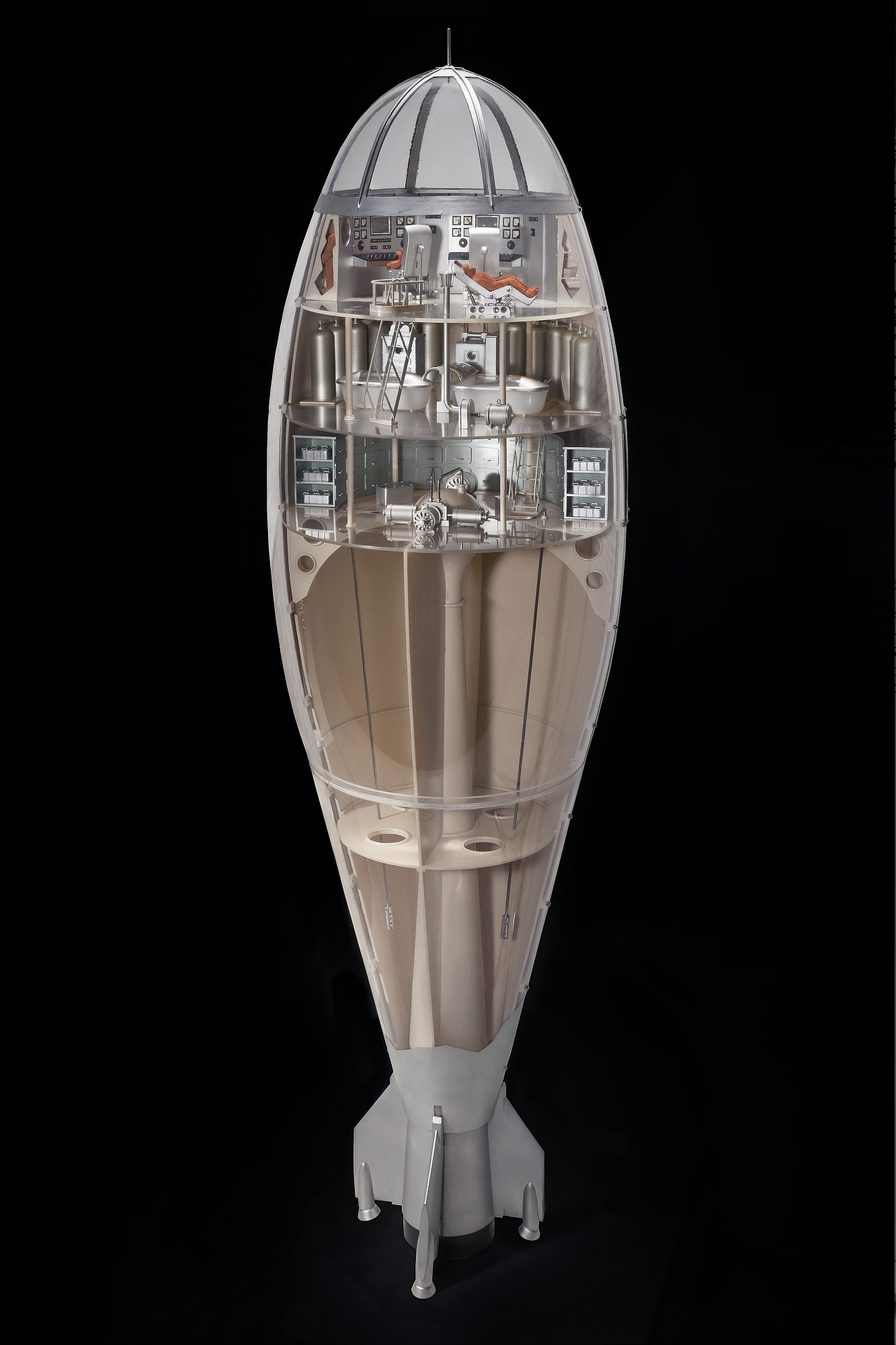 Image of : Model, Tsiolkovsky Space Craft