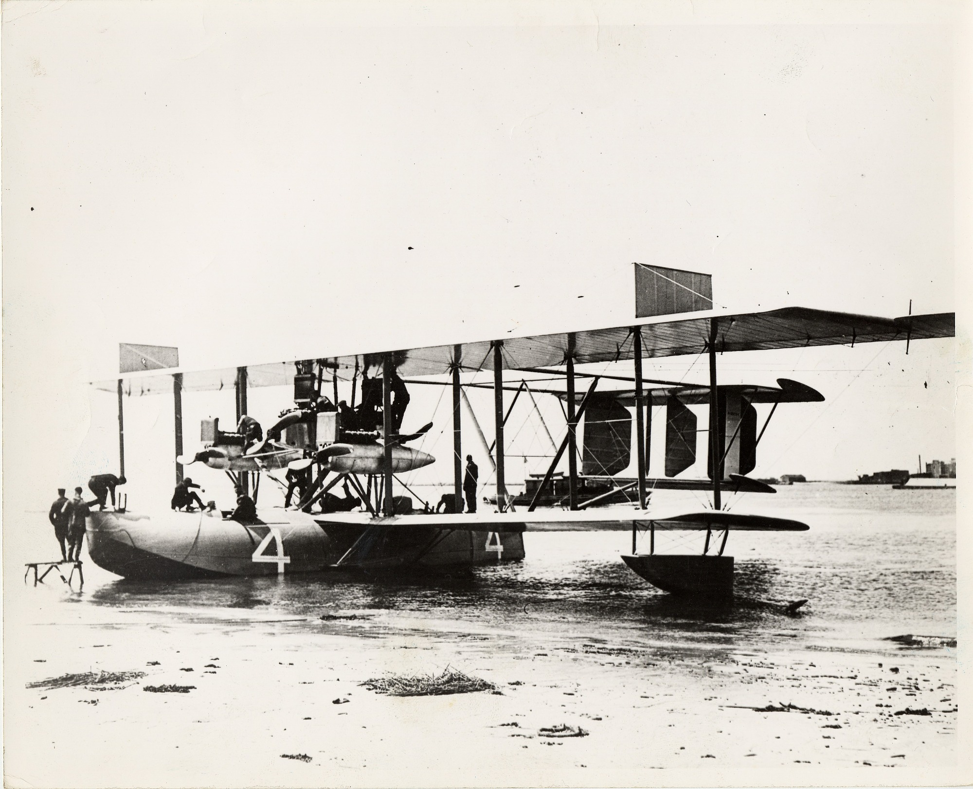 Curtiss NC-4 Design, Construction, and Testing Reports
