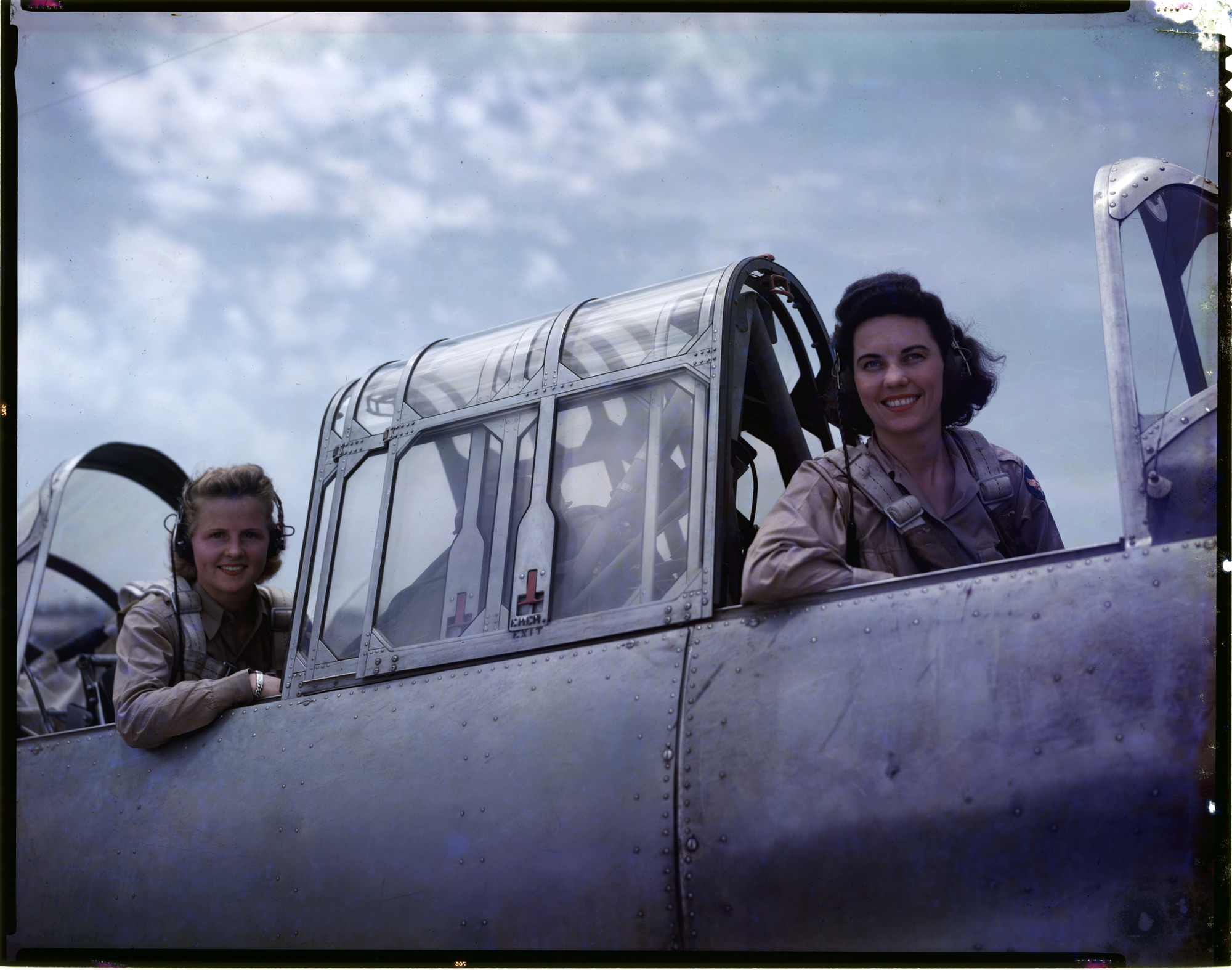 History of the Women Pilots in the Air Ferrying Division, ATC Collection