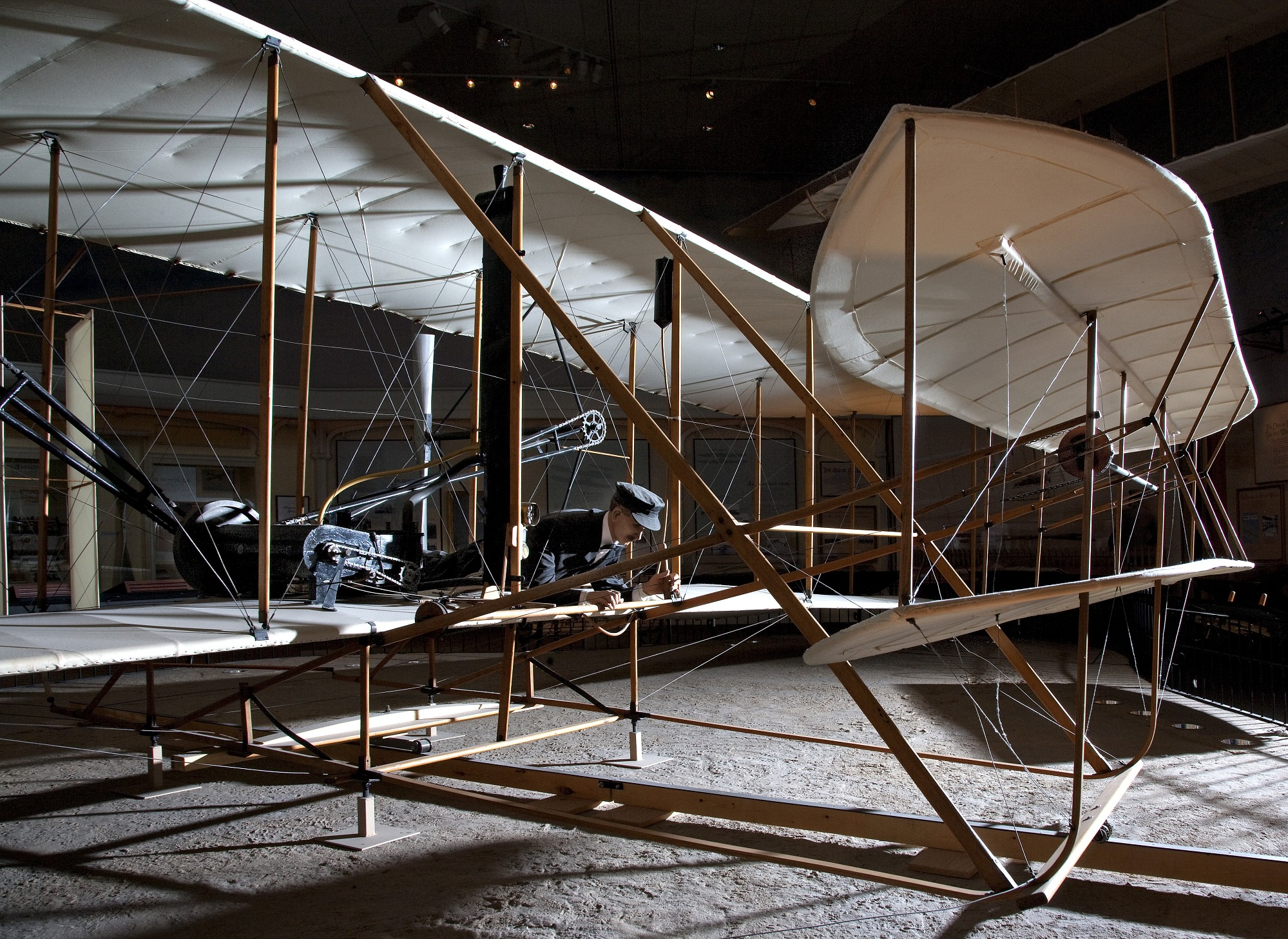 Image of : 1903 Wright Flyer