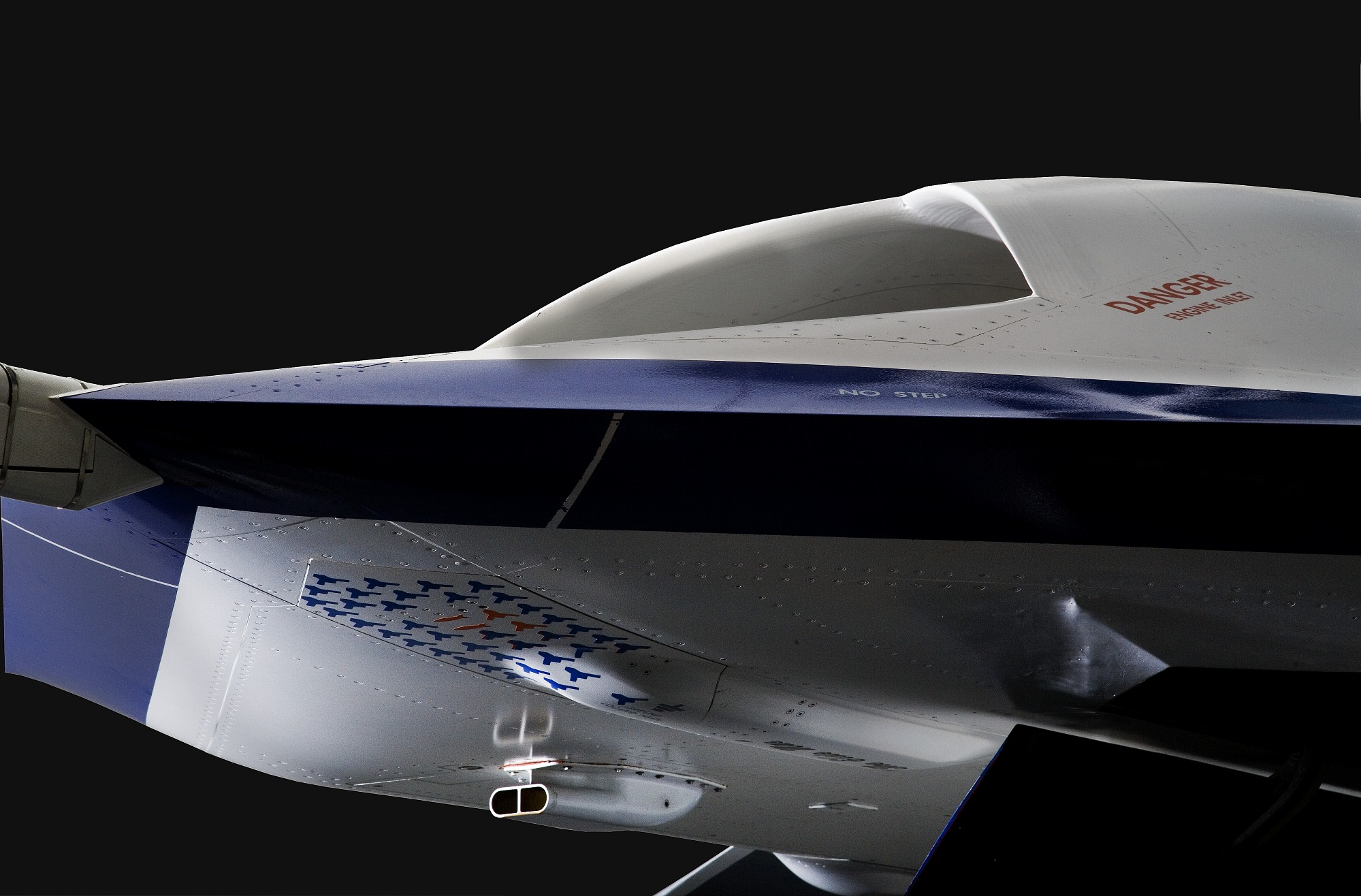 Image of : Boeing X-45A Joint Unmanned Combat Air System (J-UCAS)