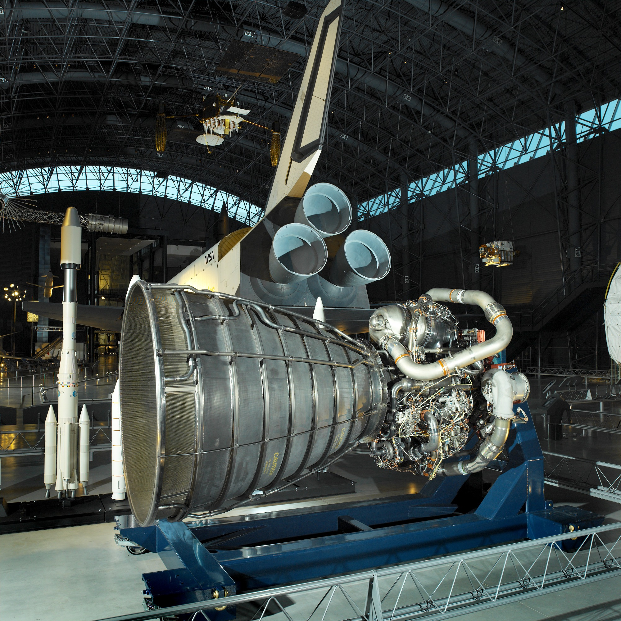 Image of : Engine, Rocket , Space Shuttle Main (SSME)