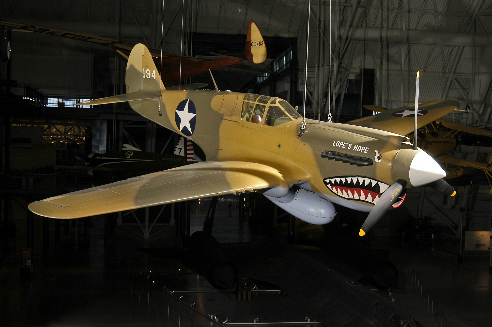 Image of : Curtiss P-40E Warhawk (Kittyhawk IA)
