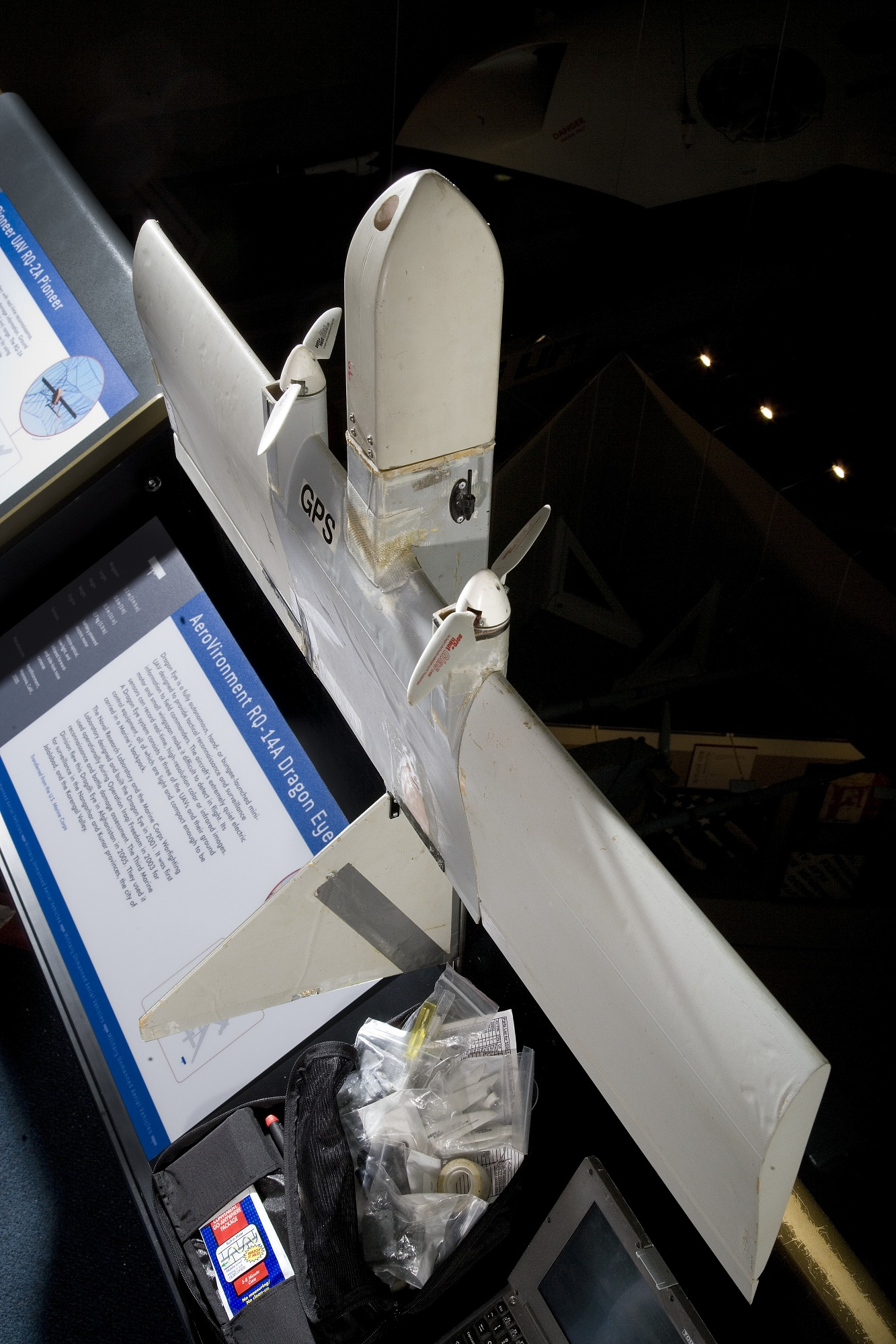 Image of : AeroVironment RQ-14A Dragon Eye