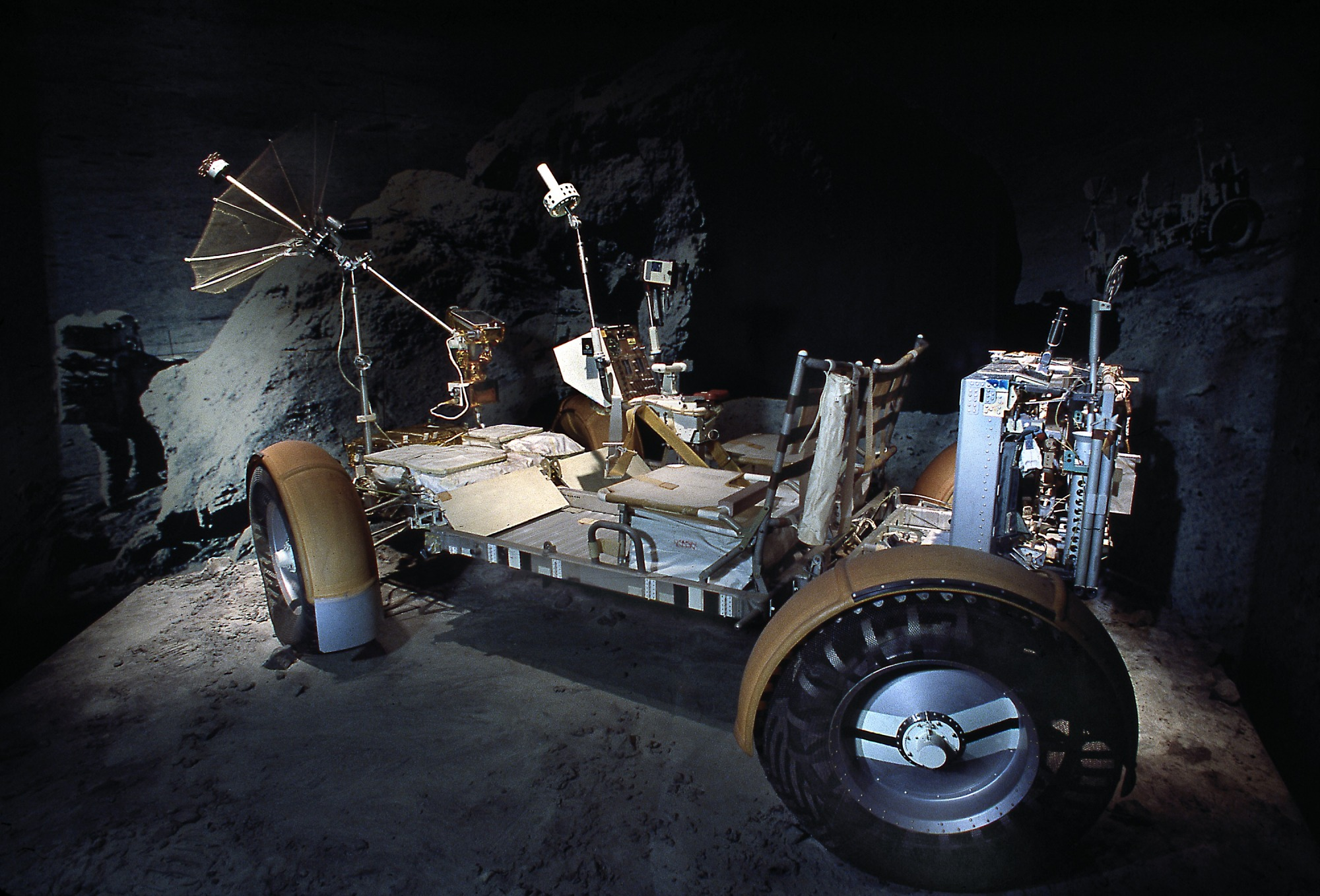 Image of : Lunar Roving Vehicle, Qualification Test Unit