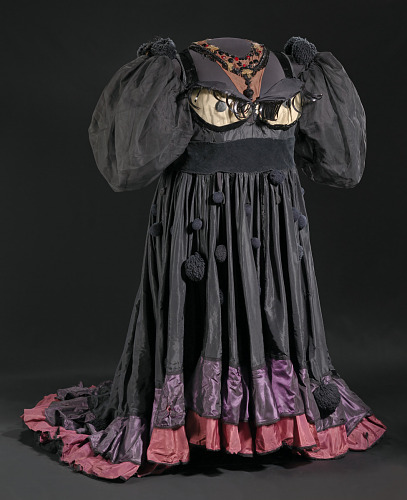 Costume gown and petticoat for Evillene in The Wiz on