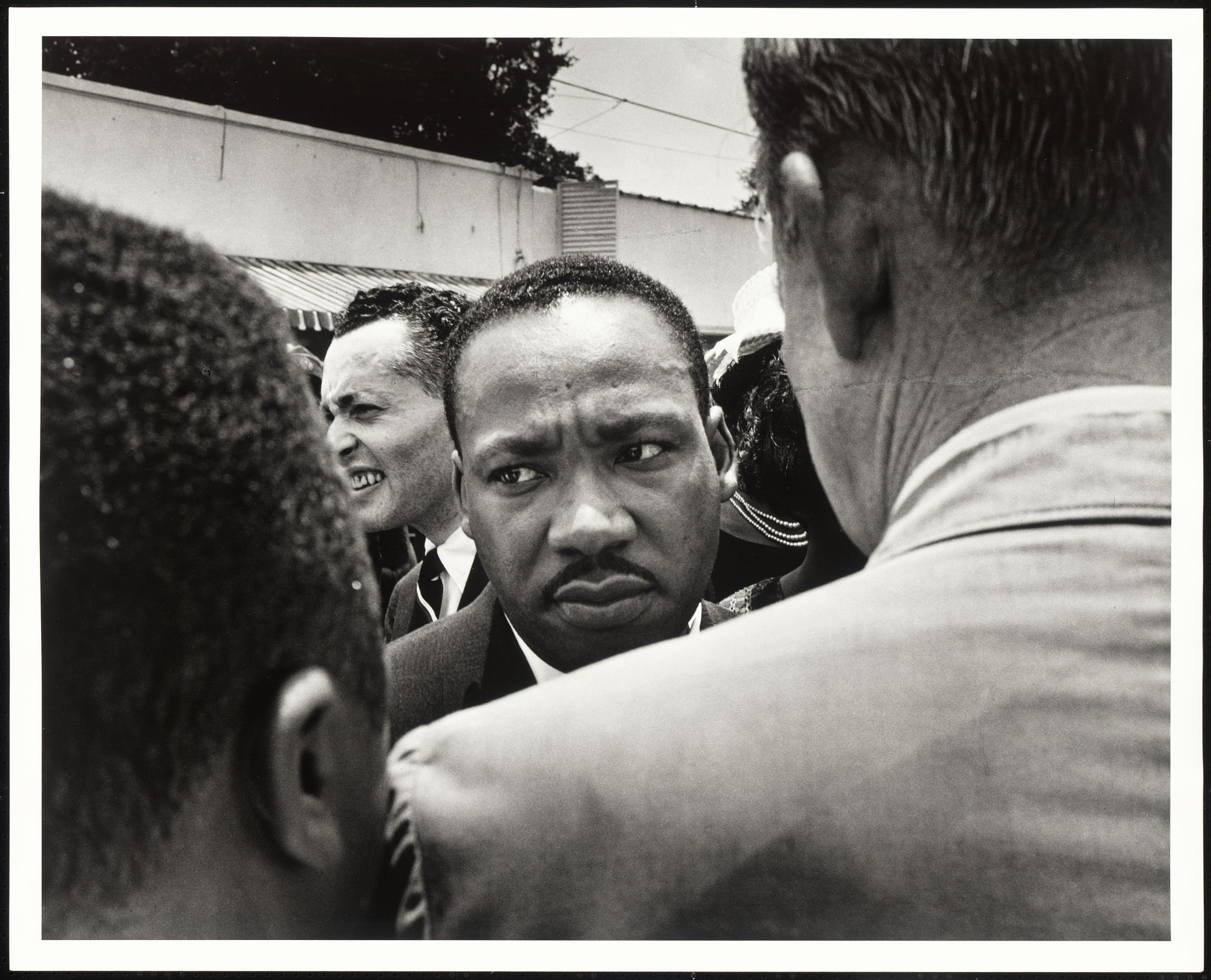 Dr Martin Luther King Jr Is Stopped By Police At Medgar Evers