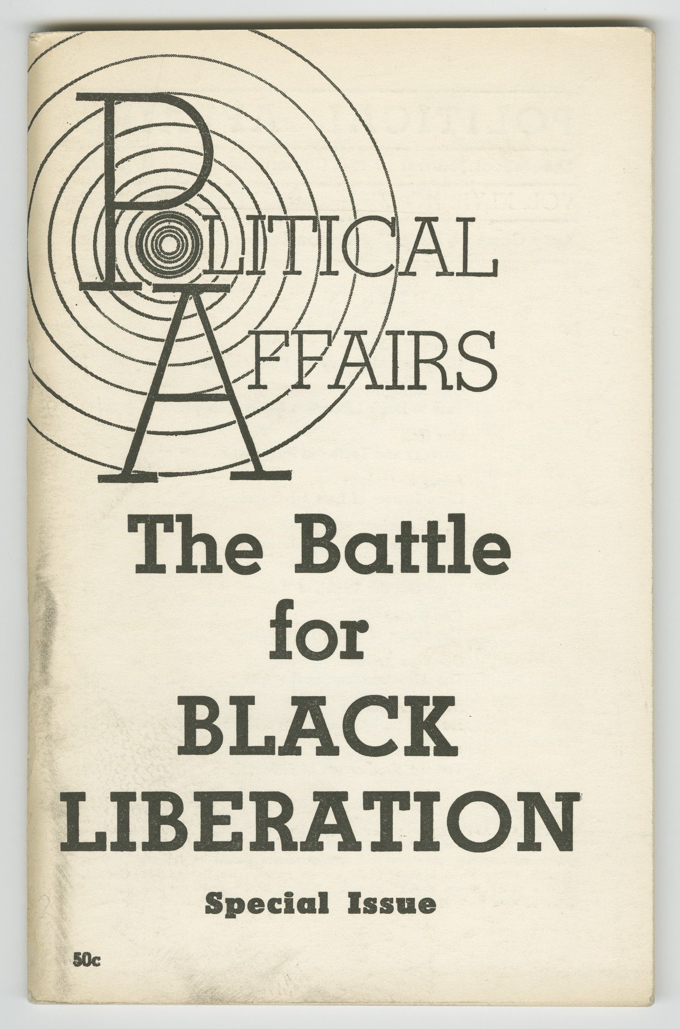 Image for Political Affairs Vol. XLVII No. 2: The Battle for Black Liberation