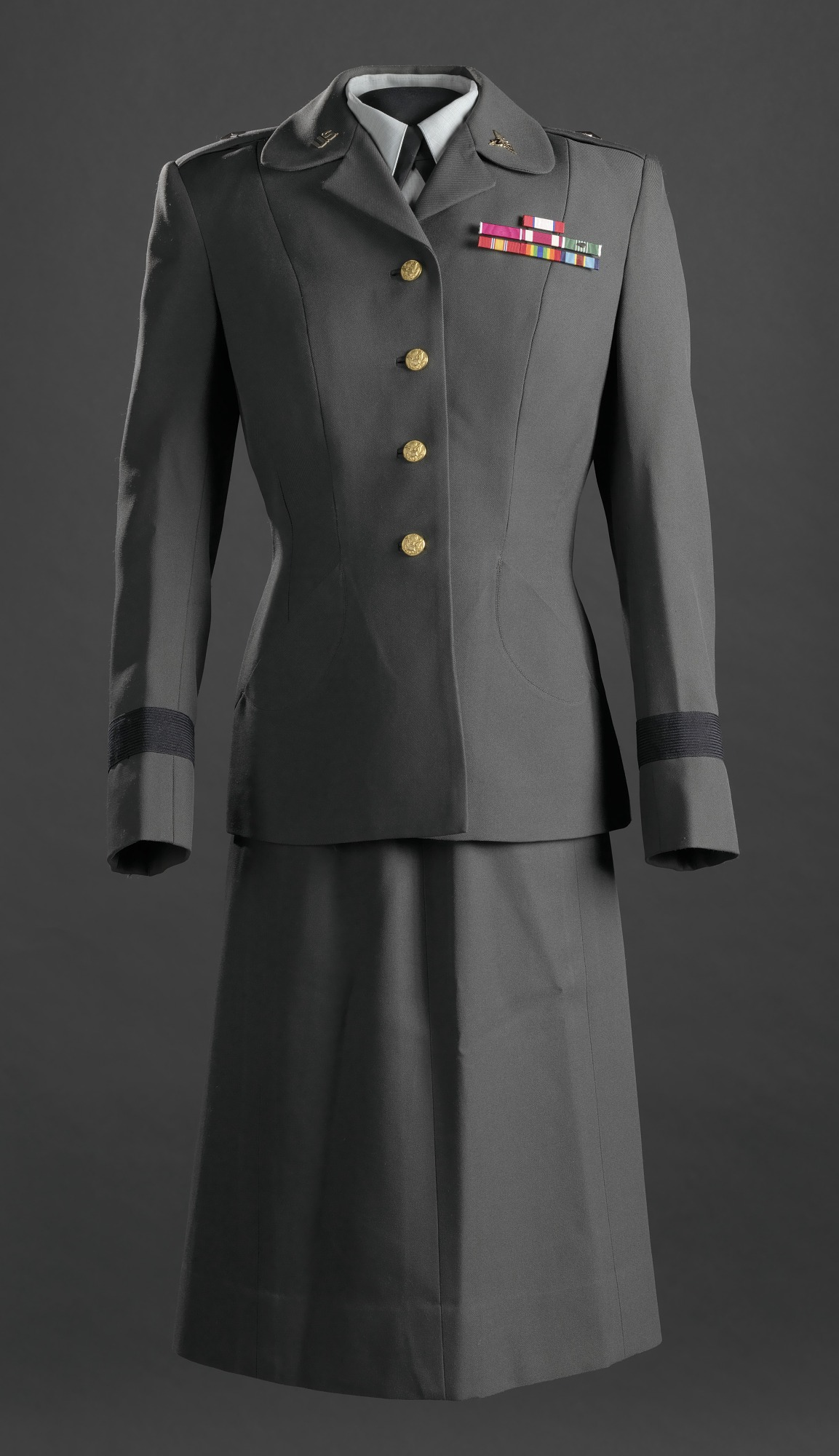 Womens Us Army Service Uniform Worn By Brigadier General Hazel